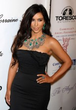 Kim Kardashian Gemstone Statement Necklace