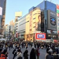 Weekly Photo Challenge: Chaos (Shibuya Intersection)