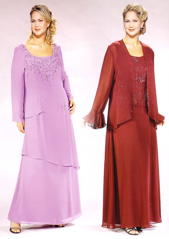 Plus Size Dresses for Mothers of the Bride and Groom