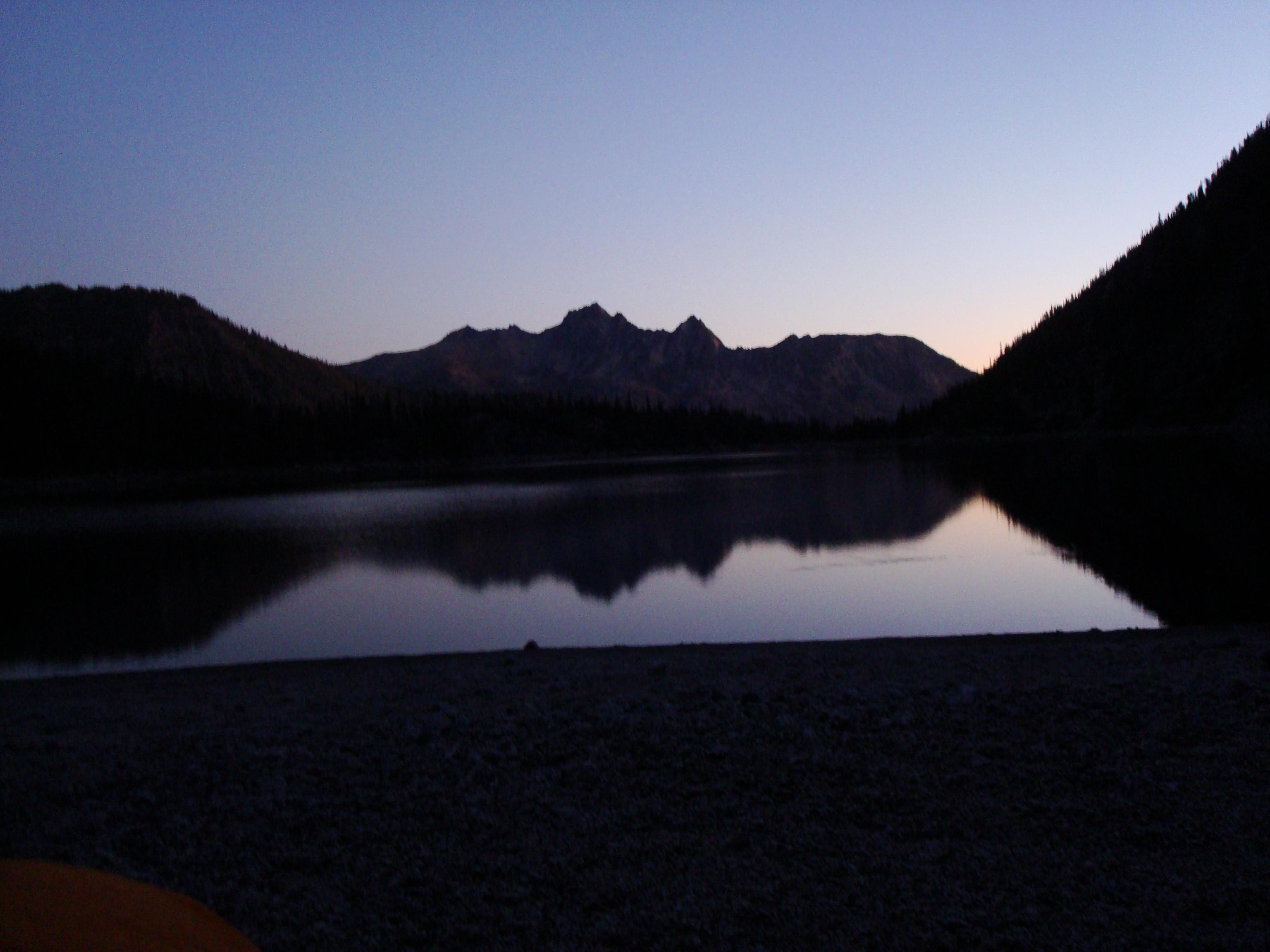 Dawn at Colchuk Lake