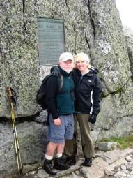 Peter and Theresa Corrigan at Marcy Summit