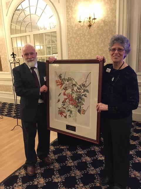 State Audubon Council Recognizes Ruth Lundin