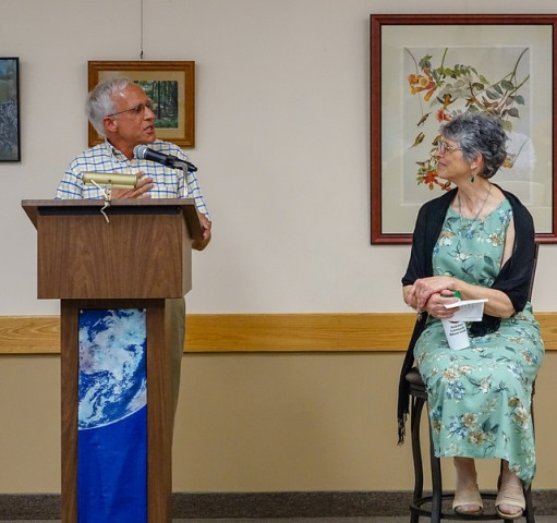 Retired President Ruth Lundin Honored by Audubon Community Nature Center