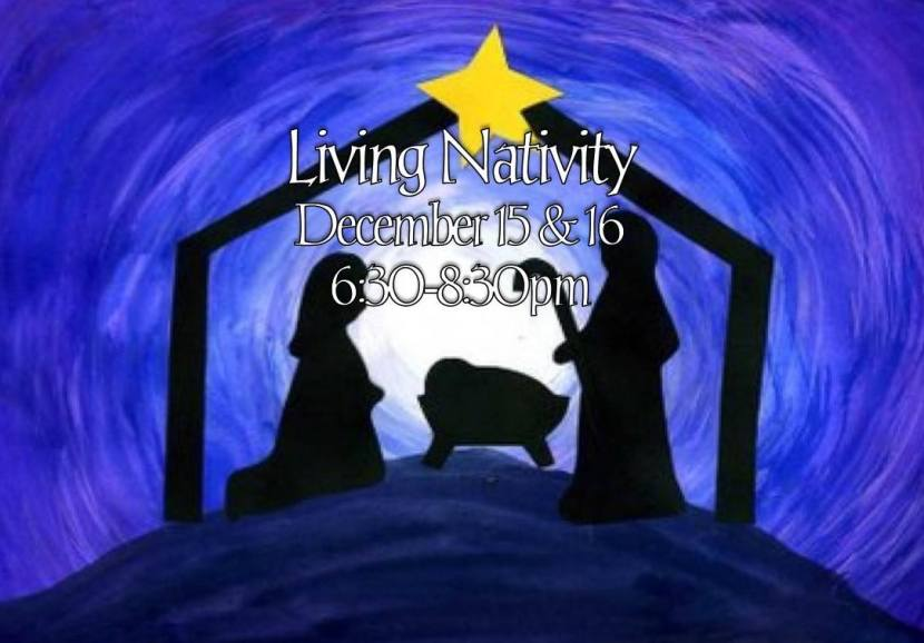 living nativity logo