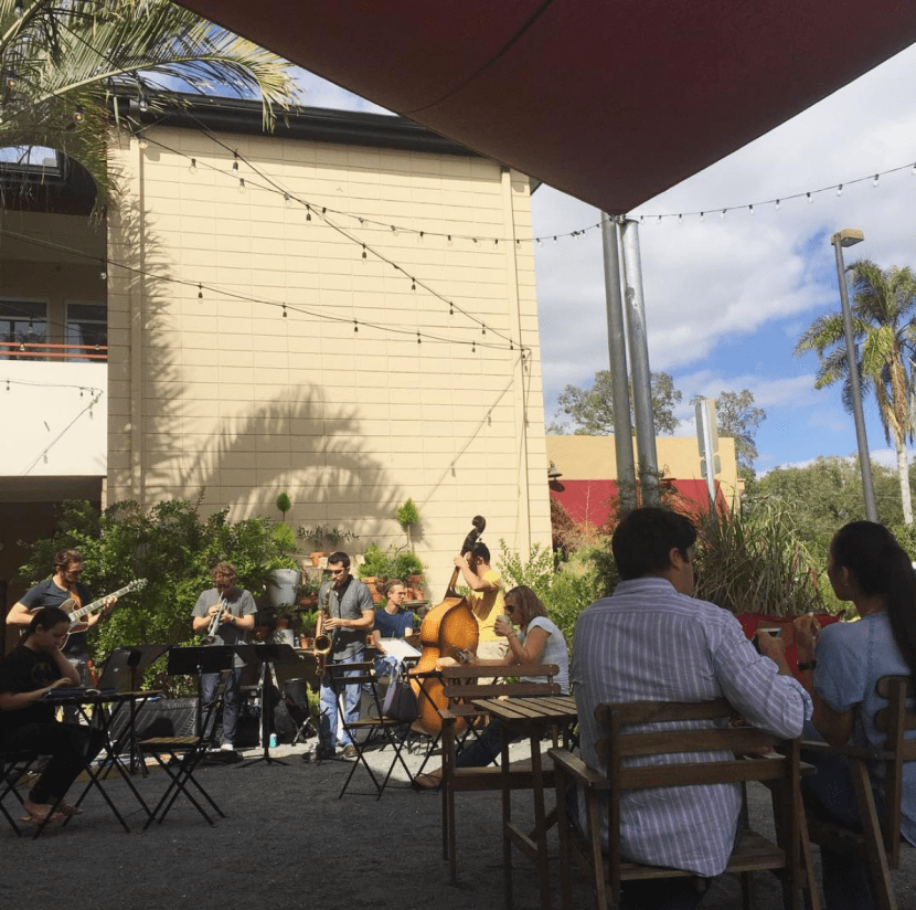 Live music at East End Market