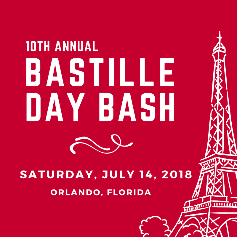Orlando Bastille Day 2018 Audubon Park Garden District