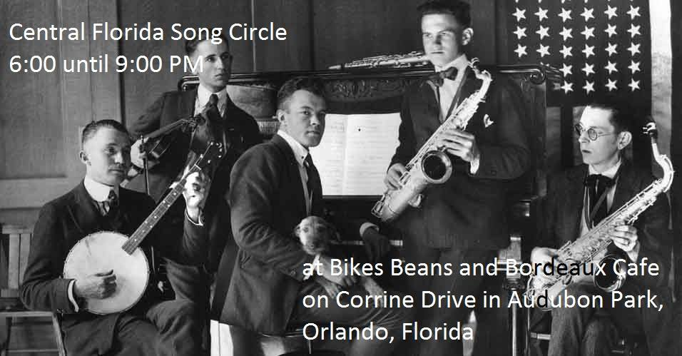 Song circle performance at Bikes, Beans and Bordeaux