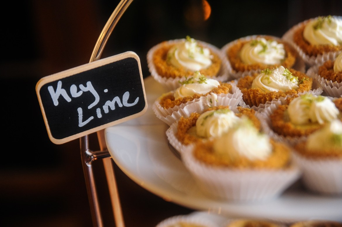 Key lime pies from P id for Pie Bake Shop in Audubon Park Garden District