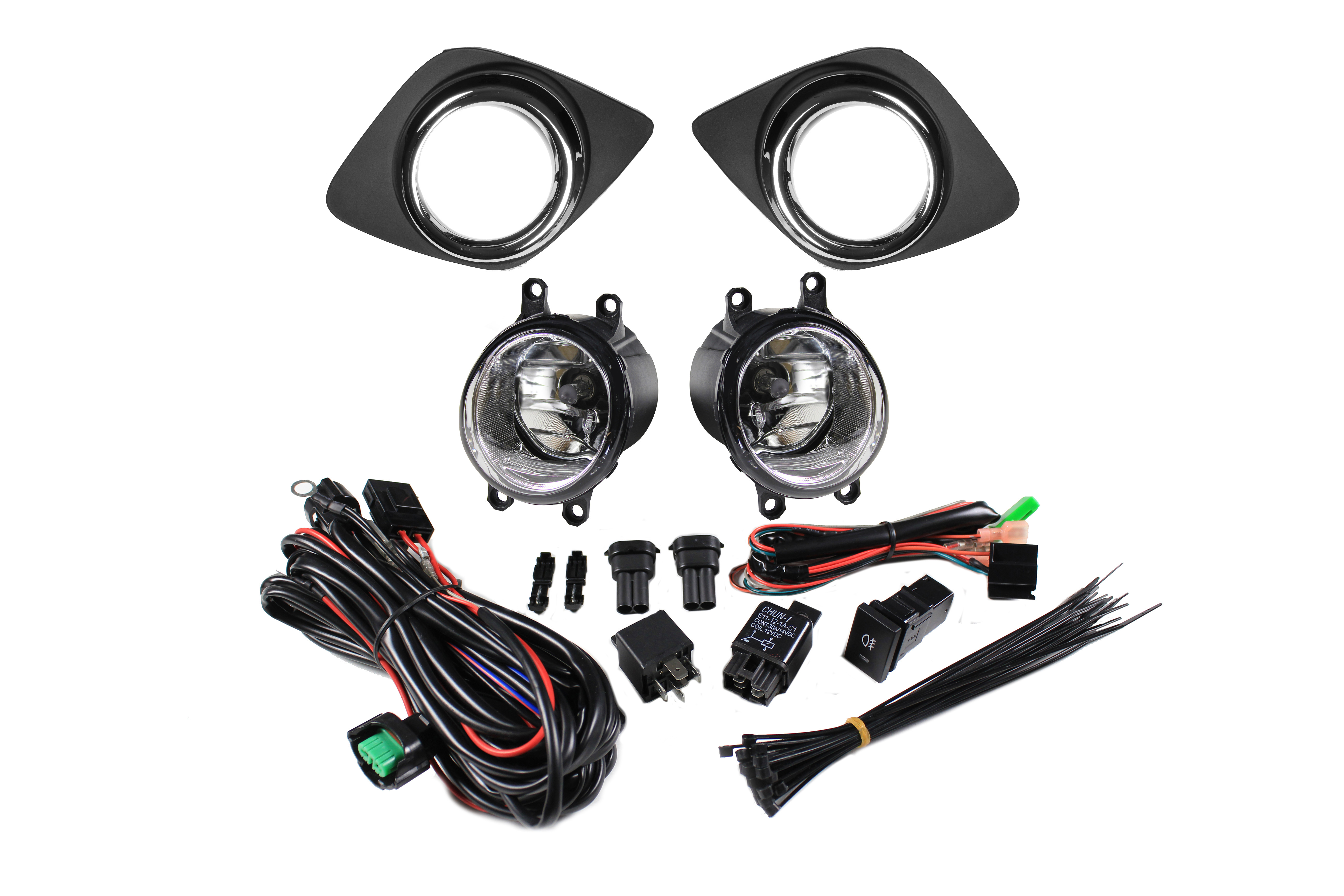 Toyota Rav4 Halogen Fog Light Kit Auer Automotive