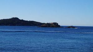 La Tour Fondue mit Blick auf die Hyerischen Inseln