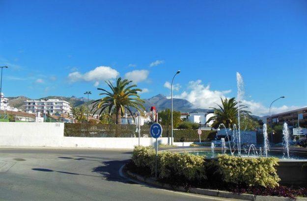 Nerja bei Malaga, Andalusien, Spanien