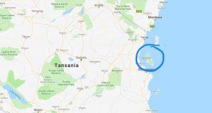 Die ostafrikanisch Insel Sansibar