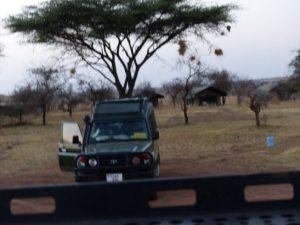 Stundenlang im Jeep durch Tansania