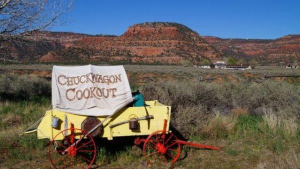 Planwagen in Utah