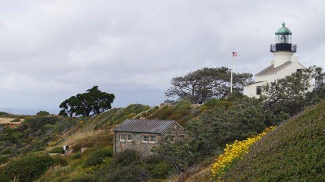 Der Leuchtturm am Point Loma