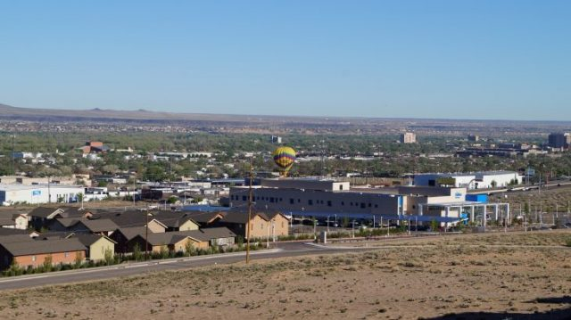 vom Holiday Inn Albuquerque