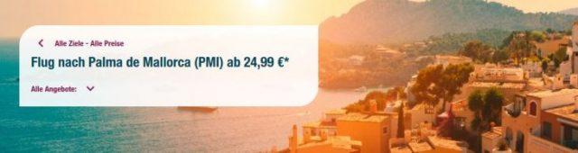 Eurowings Mallorca ab 24,99