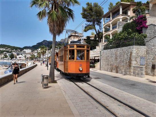 Bahn Soller Spanien Hafen