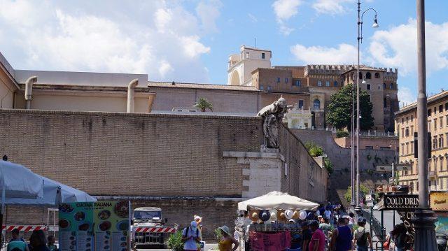 Stadtmauer vom Vatikan