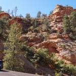 Mietwagen im Zion Nationalpark