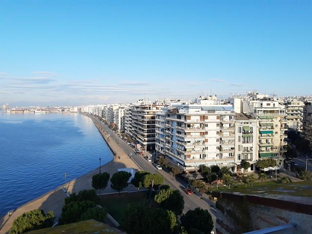 Ausblick vom weißen Turm in Thessaloniki - nach Griechenland mit Aegean Airlines fliegen