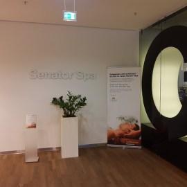 Senator Lounge Frankfurt hat einen Wellnessbereich