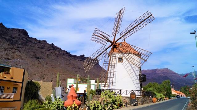 Windmühlen gibt es auf den Balearen und auf den Kanaren