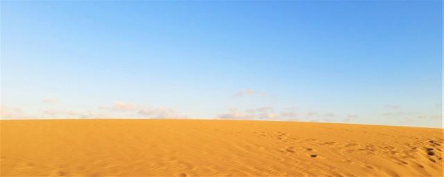 Die Dünen von Maspalomas sind ein Schauspiel der Natur