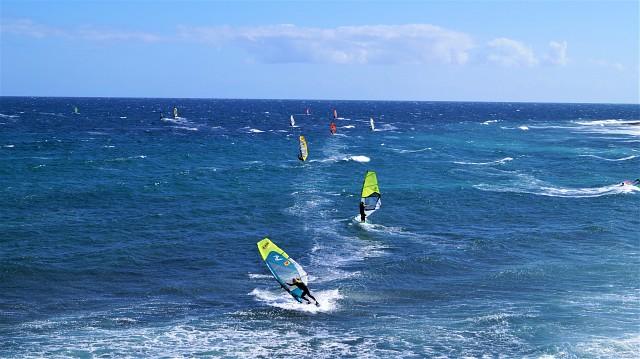 In Pozo Izquierdo - Surfen auf Gran Canaria