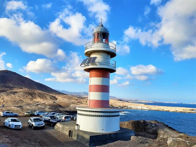 Der Leuchtturm von Arinaga