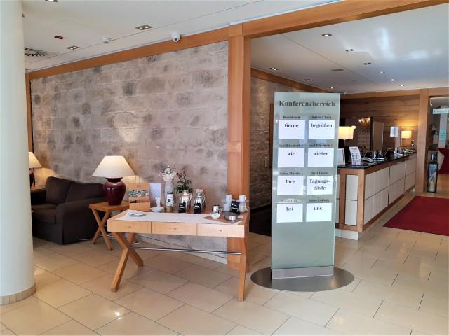 Foyer im Holiday Inn Nürnberg