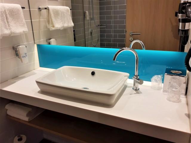 Badezimmer im Holiday Inn Express Trier