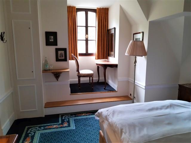 Wohnzimmer im Schloss Lieser