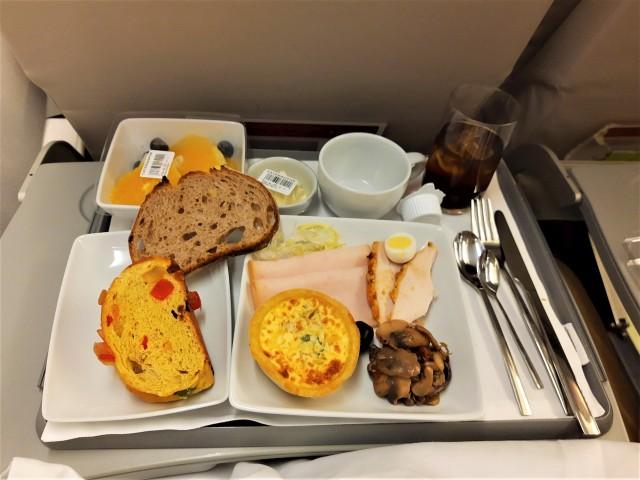 Essen bei TAP Air Portugal
