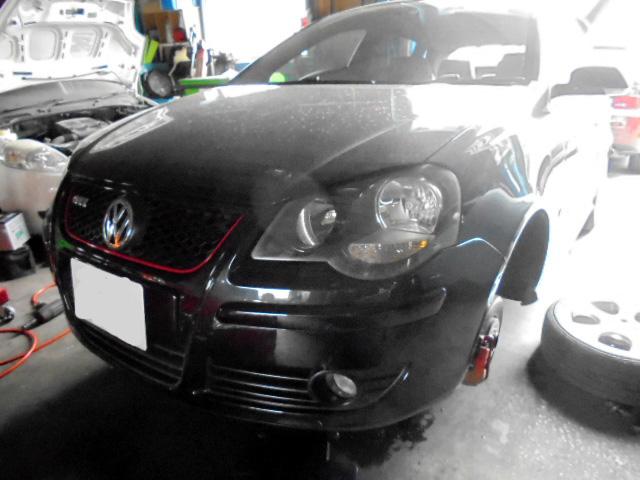 VWポロ タイロッドエンドブーツ交換