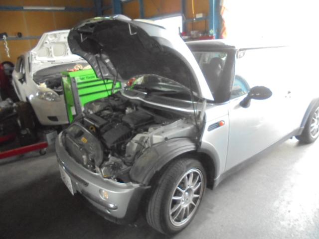 BMWミニ オイル交換