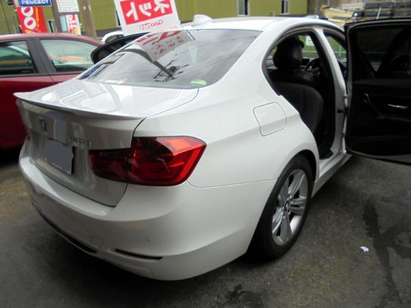 BMW 320d シートカバー取付
