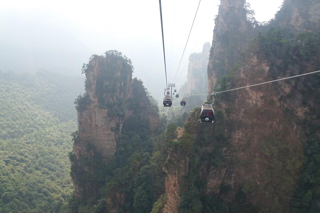 funiculaire-zhangjiajie