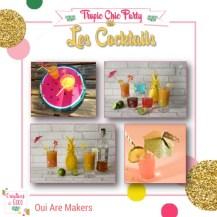 Tropic Chic Party - 3 - Les Cocktails