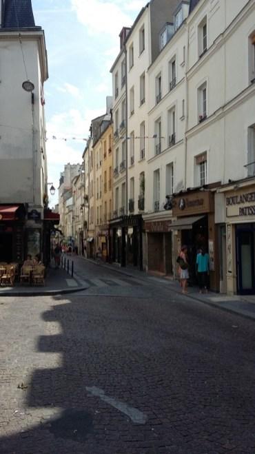 Quartier rue Mouffetard Paris
