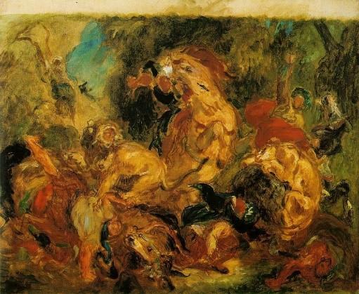 Exposition Delacroix Musée du Louvre Paris