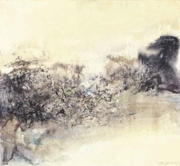 Exposition Zao Wou KI au Musée d'Art Moderne Paris