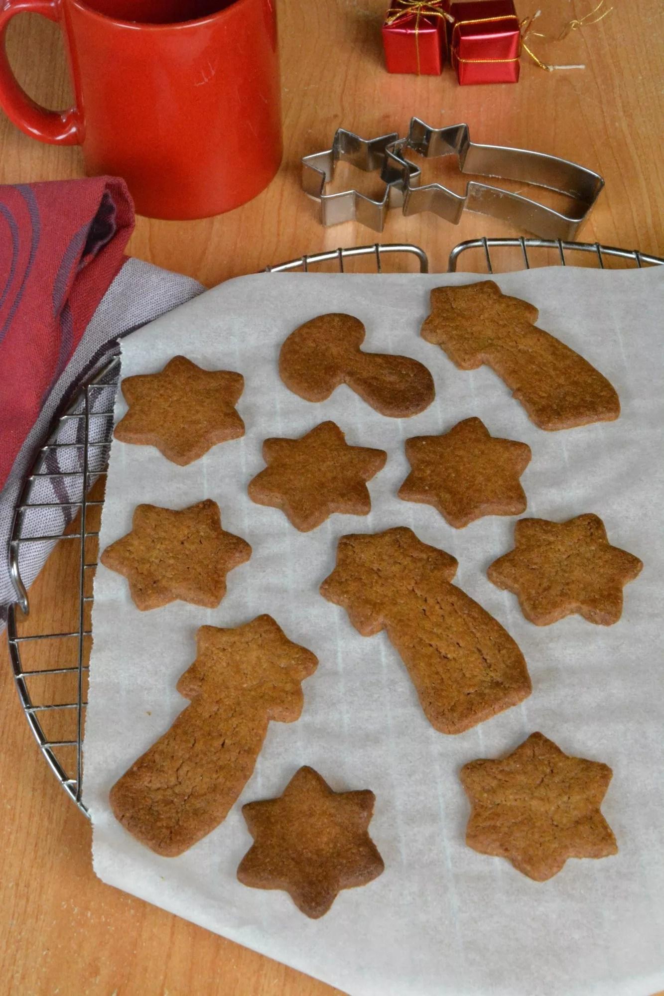 biscuits sables facon pain d epice