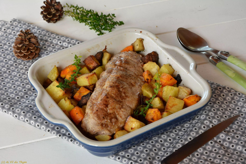 filet mignon au four legumes rotis aux epices douces