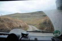 Schützengraben Grenze Aserbaidschan