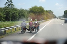 "Moped ""Abschiebwagen"""
