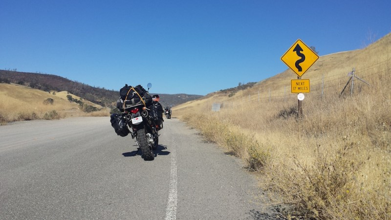 Cache Creek to Oregon: Day 1