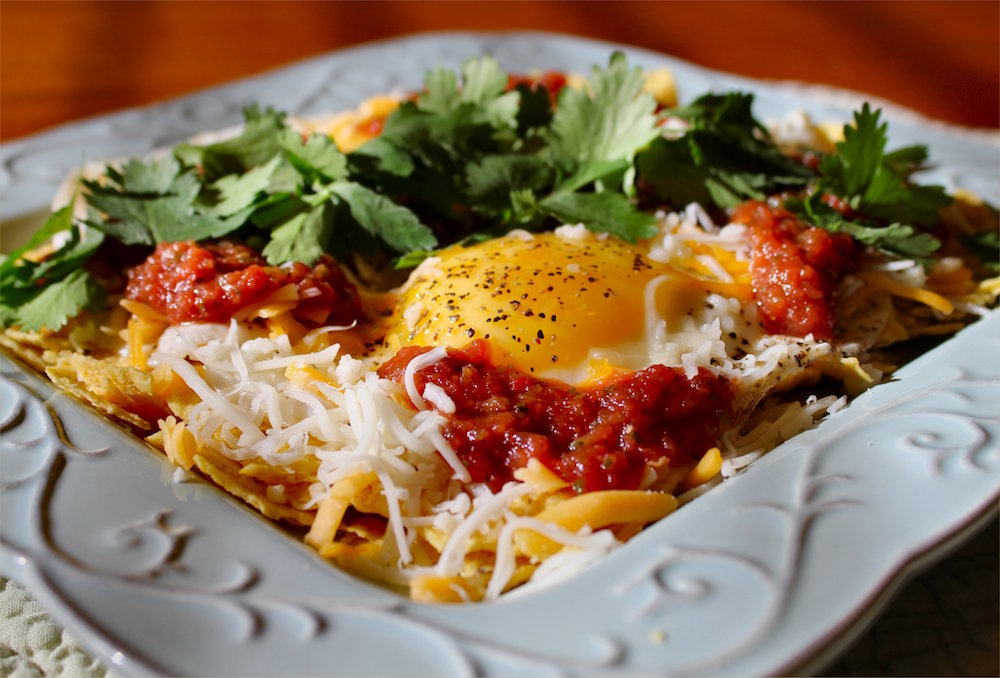 This is what we were hoping for in huevos rancheros