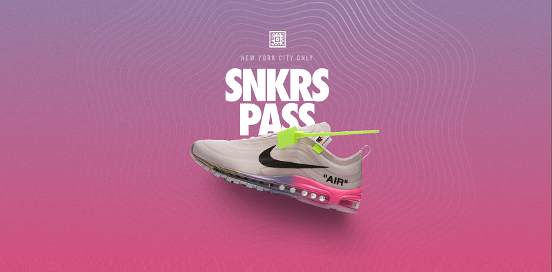 Nike Air Max 97 de color blanco elemental Rose Serena