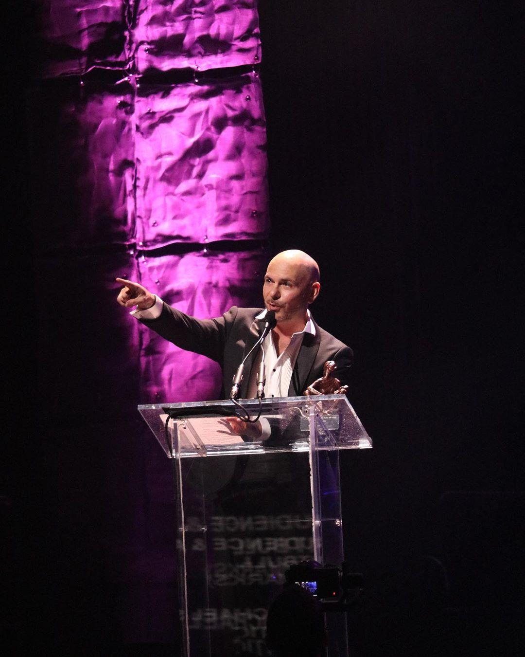 Pitbull premio icono Musa Awards 2019